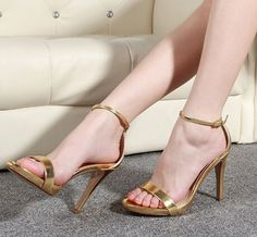 New 2014 Platform Shoes Decoration Iron Metal Gold sliver Women High Heels  Sandals Pumps Shoes for 00fc29e2e07b