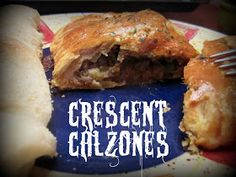 Living My Life On Purpose: Crescent Calzones