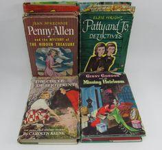 Vintage 1950 Children Mystery Novels for by FineLineTreasures
