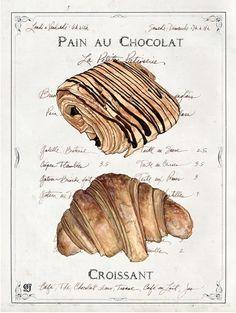 #parisian breakfast...