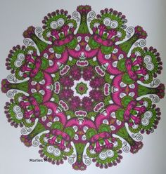 Het enige echte mandala kleurboek