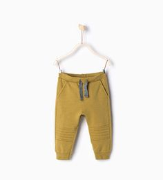 Image 1 of TROUSERS WITH KNEE SEAMS from Zara