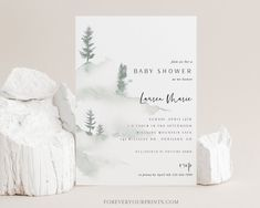 Printable Baby Shower Invitation Template Gender Neutral | Etsy
