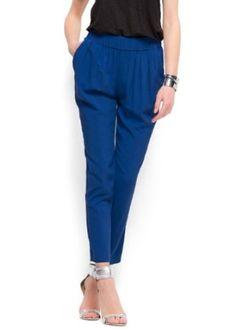 Mango Women's Pleated Trousers