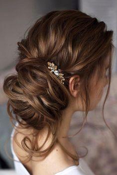 pinterest wedding hairstyles feminity side low bun tonyastylist