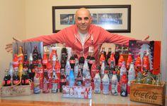 Otro de nuestros protagonistas es Jesús Ávila, un gran coleccionista de Coca-Cola desde hace más de 30 años. Siempre deseando que llegue la próxima convención para compartir con todos su momento Coca-Cola.