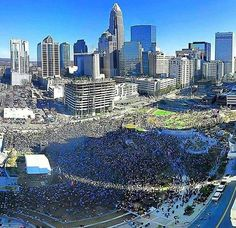 So much love shown for the #Panthers at the rally yesterday. I can only imagine what it will look like once we bring the trophy home.  Submitted by @diesel_430 :@souderpatch_kid