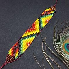 Sacred Ceremony Amulets Handmade Sacred Geometry Jewellery | Etsy Sacred Plant, Beadwork Designs, Native American Beadwork, Sacred Geometry, Bead Weaving, Bead Crafts, Glass Beads, Beaded Bracelets, Etsy
