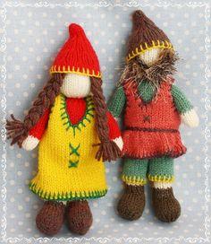gnomes knitting pattern from debibirkin.com by debi birkin, via Flickr
