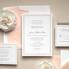 Kimberly FitzSimons | Letterpress Wedding Invitations | Grace by Kimberly FitzSimons | Kimberly FitzSimons