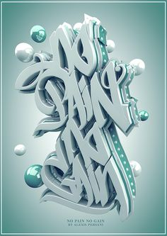 /// 3D typo /// on Typography Served
