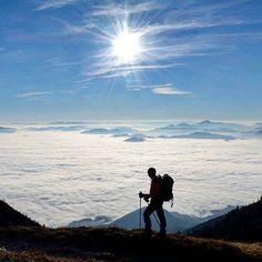 Enjoying a day above the clouds Storžič Slovenia   Zoran Stanko Say Yes To Adventure