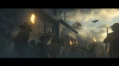 Really cool commercial for #AssassinsCreed #Unity directed by #NeilHuxley, the animation and the visual effects are made by #DigitalDomain: http://www.artofvfx.com/?p=9892