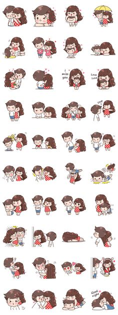 This love for you, send your love to your couple. It's so cute >. Love Cartoon Couple, Cute Cartoon Pictures, Cute Love Cartoons, Cute Couple Drawings, Cute Couple Art, Cute Drawings, Cute Love Gif, Cute Love Quotes, Cute Love Stories