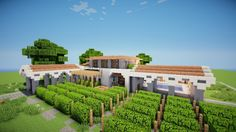 Meditteranean WineStore Welcome to Grapes, a winestore built by Badlife Industries Includes: Store Bathroom Employee Meeting Rooms/Offices Outdoor Pool Pool Facilities Sitting Area Outdoor B…