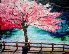 Cherry Blossom Tree Painting | Cherry Blossom tree by ~smjimenez18 on deviantART
