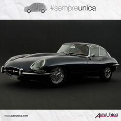 Se diciamo Jaguar E-Type, voi pensate a Diabolik vero? Curiosità: dopo la prima comparsa dell'auto nel fumetto, Jaguar diffidò le autrici a nominarla. Temevano pubblicità negativa, essendo Diabolik un ladro. Ma Jaguar si ricredette presto: il ladro di Clerville alla guida della E-Type è tra le immagini che hanno fatto la storia del modello #sempreunica