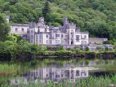 Glenveagh Castle (Irish: Caisleán Ghleann Bheatha ) is a large castellated Mansion house built in the Scottish Baronial style within Glenveagh National Park, near both Churchill and Gweedore in County Donegal, Ireland.