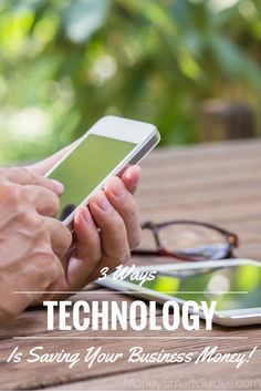 Technology has given businesses capabilities they never thought possible, and the result is a healthier bottom line.  http://www.moneysmartguides.com/3-ways-technology-saving-business-money #blogging Blogging