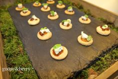 Mini brioche sandwich, black truffle, gruyere, quince jelly & basil  #canapés #vegetarian #seasonal #local #delicious #perfect #caterers #bestofbritish #events #London #Buckinghamshire #Marlow #corporate #wedding