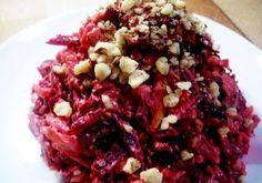 Салат Пиковая Дама из свеклы с черносливом Cabbage, Grains, Recipies, Rice, Beef, Vegetables, Cooking, Food, Salads