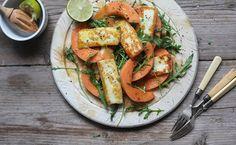 Organic Melon & Halloumi Salad - Abel & Cole