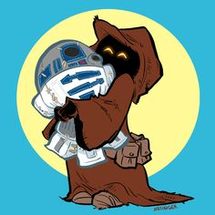 One of the star wars tshirt designs by Brian Kesinger on his blog: http://willdraw4fun.blogspot.com