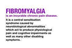 The true definition of FMS. aka: Fibromyalgia Life with Rheumatoid Arthritis Auto-Immune Disease Fibromyalgia/Chronic Illness Pulmonary Sarcoidosis Hyperaldosteronism. Fibromyalgia Awareness Day, Fibromyalgia Quotes, Fibromyalgia Syndrome, Chronic Fatigue Syndrome Diet, Fibromyalgia Pain, Chronic Pain, Fibromyalgia Treatment, Endometriosis, Pcos