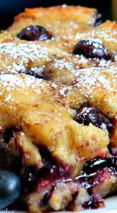 Blueberry French Toast Casserole                                                                                                                                                     More