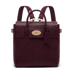 Mulberry Large Cara Delevingne Bag in oxblood.