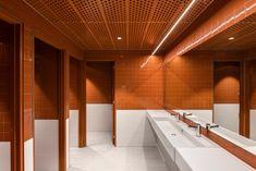 Mill Film Studio Offices - Adelaide - Office Snapshots Wc Design, Toilet Design, Interior Design, Washroom Design, Public Bathrooms, Film Studio, Studio Studio, Room Screen, Changing Room