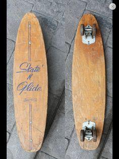Vintage Skateboard Skate N Slide