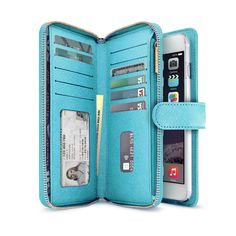 Fancy - Leather iPhone 6/6S & 6/6S Plus Wallet Wristlet