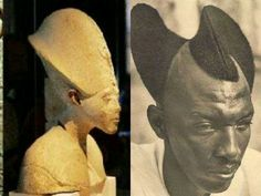 Kemetic African people. Culture milenar ancient Pharaonique