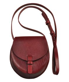 Another great find on #zulily! Red Kade Leather Mini Crossbody Bag #zulilyfinds