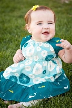 Organic baby dress