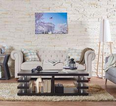Espresso Coffee Table Brown Ottoman Furniture Modern Living Room Dark Shelves | eBay