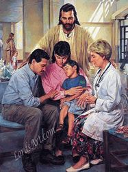 Physician's Prayer by Nathan Greene