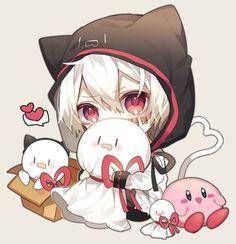 Chibi! I should draw this...looks easy enough #chibi #cute #anime