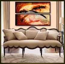 Geni002 36x24 Original Abstract Painting by Geni by genistudio, $69.99