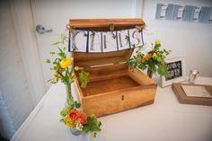 Handmade card box for wedding