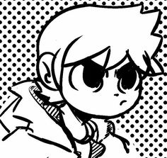 Cartoon Drawings, Easy Drawings, Scott Pilgrim Comic, Bryan Lee O Malley, Comic Style, Arrow Tv Shows, Comic Face, Drawings Of Friends, Scandal Abc