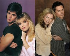 Frankie and Jennifer  (Billy Warlock and Melissa Reeves)