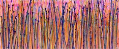 Translucent panorama (Natures imagery) 2 Painting by Nestor Toro   Saatchi Art Abstract Expressionism, Abstract Art, Original Art, Original Paintings, The Other Art Fair, Bright Pink, Pink Purple, Buy Art, Saatchi Art