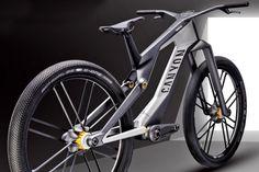 Canyon Orbiter urban concept bike pulls together magnetic suspension & stealth eMTB drive - Bikerumor