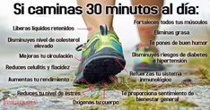 Si caminas 30 minutos al día. Esto es lo que le sucede a tu cuerpo en 1 mes. Increíble!