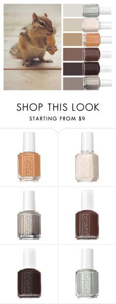 """""""Full Cheeks"""" by chawy-mk ❤ liked on Polyvore featuring beauty and Essie"""