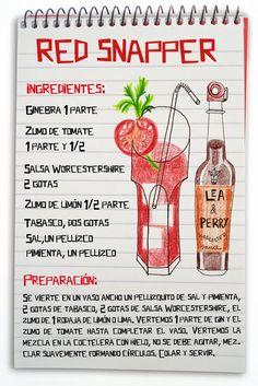 Red snapper: cóctel con ginebra