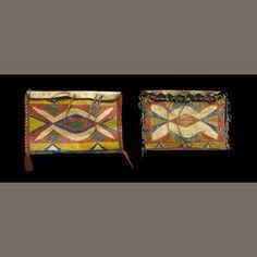 sioux parefleche | Bonhams Auctioneers : Two Sioux parfleche envelopes