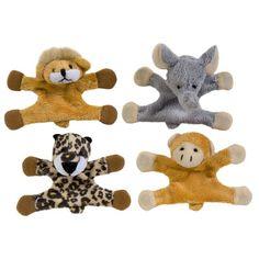 Locker Rockers™ Jungle Locker Buddies - Plush jungle animal magnets tame wild lockers #locker #cute
